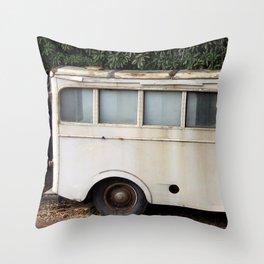 Morris PV van II Throw Pillow