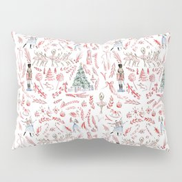 Nutcracker Toile Pillow Sham