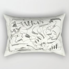 Out of the Shadows Rectangular Pillow