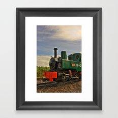 Full steam ahead! Framed Art Print