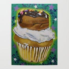 DonutCupcake Poster