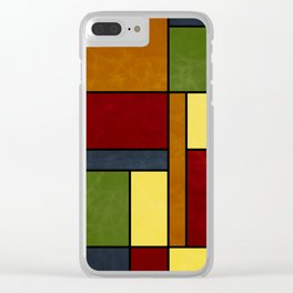 Mondrian VG Clear iPhone Case