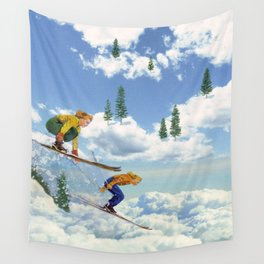 Pow Clouds Wall Tapestry