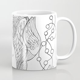 Two mermaids, many pearls Coffee Mug