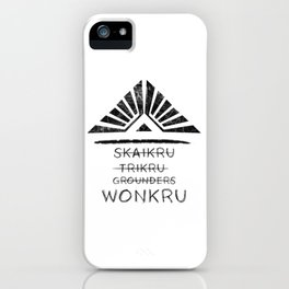 Join the Wonkru iPhone Case