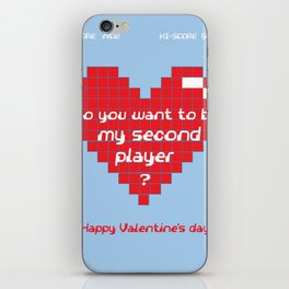 Love for Gamers iPhone Skin