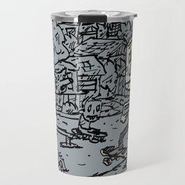 Manual pad Travel Mug