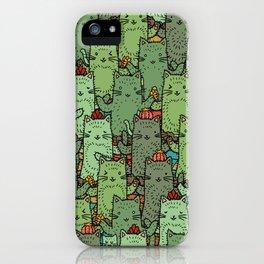 Catcus Garden iPhone Case