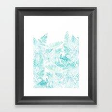 Ferns Rising Framed Art Print