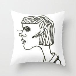 Bleh Throw Pillow