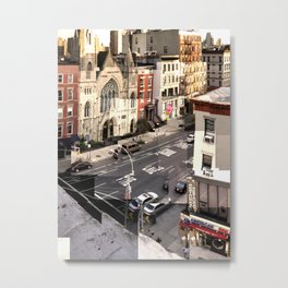 East Village NYC (2nd Ave.) Metal Print