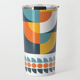 Geometric Plant 02 Travel Mug
