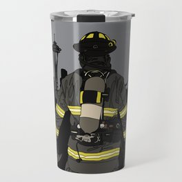 Seattle Firefighter Travel Mug
