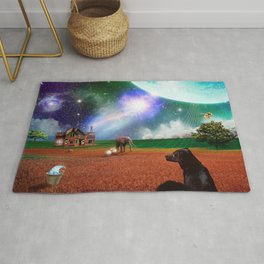 A Most Unusual Evening Rug