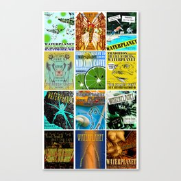 WATERPLANET: GigPosters1 Canvas Print