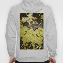 Abstract leaves mosaik Hoody