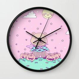Moyo Dulce Halloween Wall Clock
