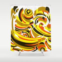 Seigaiha Series - Camaraderie Shower Curtain