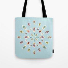 """Mandala """"Abstracted Boats"""" Tote Bag"""