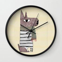 Morse Wall Clock