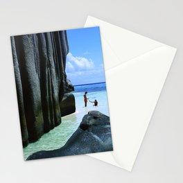 Seychelles Islands: La Digue Stationery Cards
