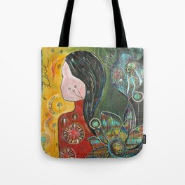 Love is a journey Tote Bag