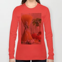 delicious pasta Long Sleeve T-shirt