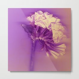 Purple Purity Metal Print
