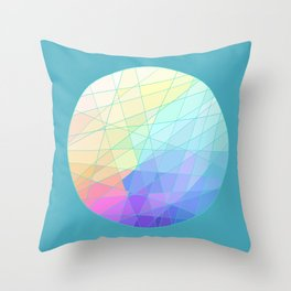 Spectrum Throw Pillow