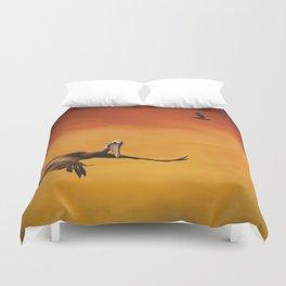 Pelican Heaven Duvet Cover