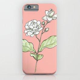 Sampaguita iPhone Case