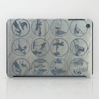 sports iPad Cases featuring Outdoor sports by Paul Simms