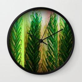 le grande leaves Wall Clock