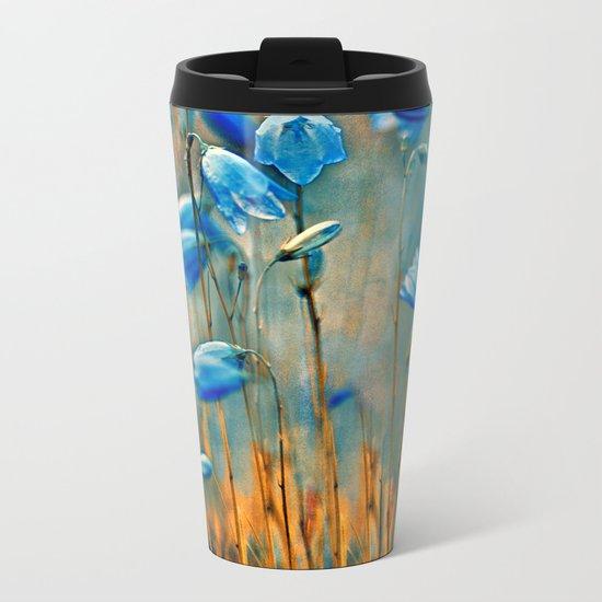 Bluebells. Metal Travel Mug