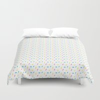 sprinkles Duvet Covers featuring Sprinkles by Holly Illustrates