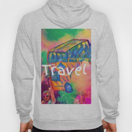travel addict Hoody