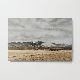 Great Sand Dunes National Park - Mountains II Metal Print