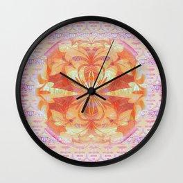 Peaceful Portal Feng Shui Mandala Wall Clock