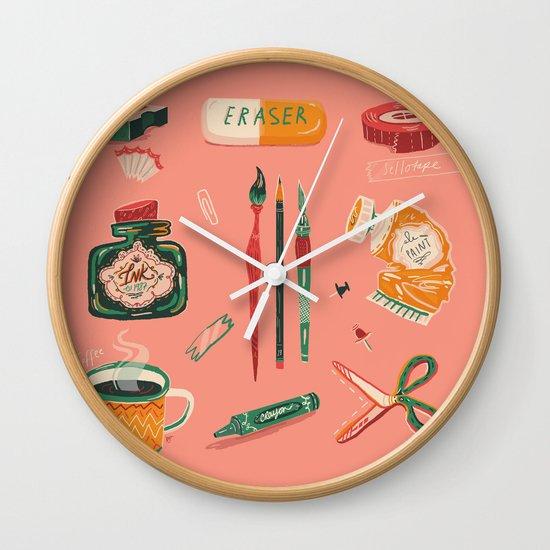 Art Gang Wall Clock