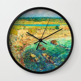 Bailey's Beach, Newport - Digital Remastered Edition Wall Clock