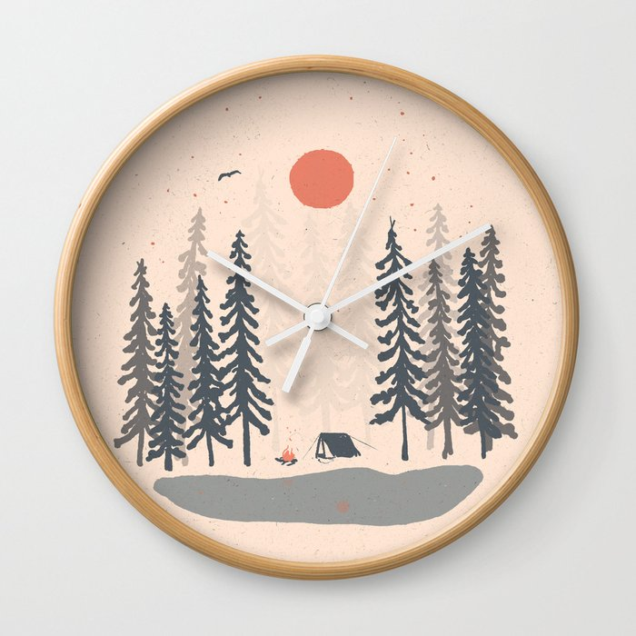 Feeling Small in the Morning... Wall Clock