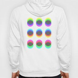 CMYK in RGB Circles Hoody