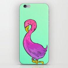 Summer Flamingo iPhone Skin