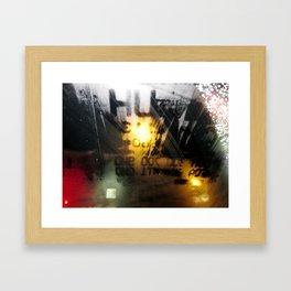 Part Deux to My Heart  Framed Art Print