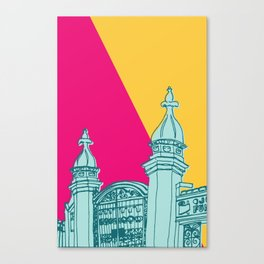 Trinity Bellwoods gates Canvas Print