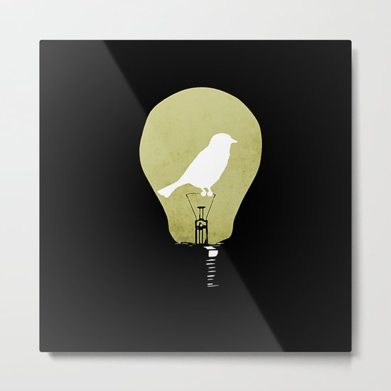 ideas take flight Metal Print