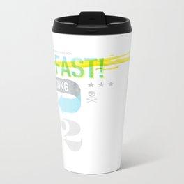 Live Fast / Die Young Metal Travel Mug