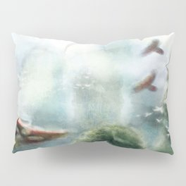 Flight through the Mountains Pillow Sham