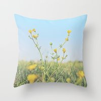 Aim for the Skies Throw Pillow