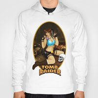 tomb raider Hoodies featuring Tomb Raider by Orphen5